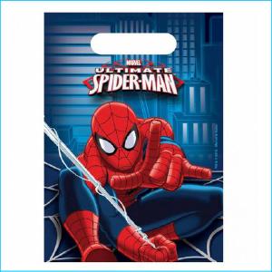 Spiderman Lootbags Pk 8