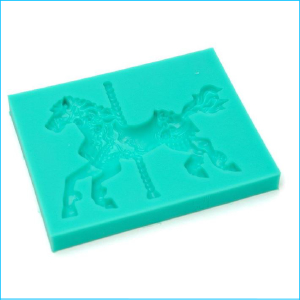 Silicone Mould Carousel Horse