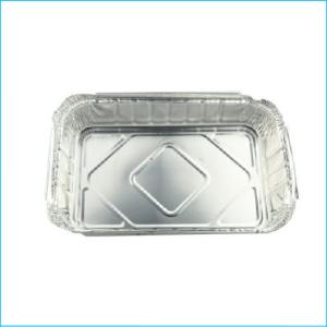 Foil Rectangle Tray 31cm x 26cm x 7cm Pk