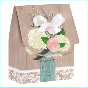 Rustic Wedding Favour Boxes Pk 12