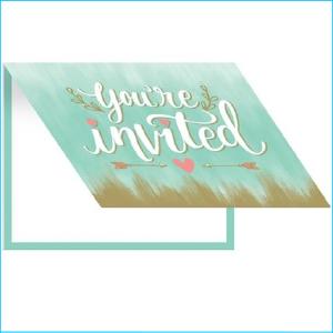 Bridal Mint To Be Invites Pk 8