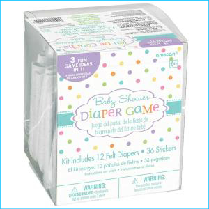 Baby Shower Nappy Game Pk 12