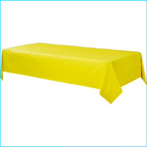 Yellow Rectangle Tablecover 1.37m x 2.74