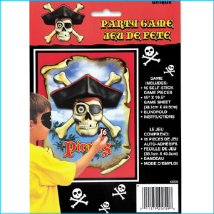 Pirate Party Game Set 18
