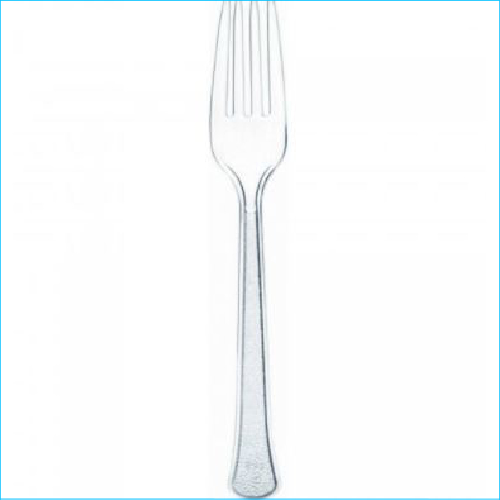 Clear Plastic Forks Pk 20