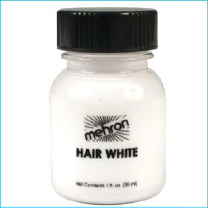 Hair White with Brush 30ml