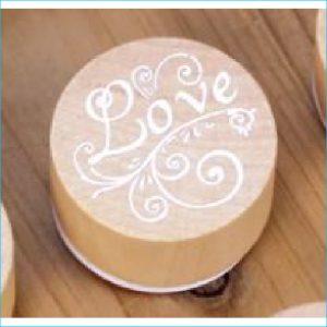 Timber Ink Stamp Love 3cm