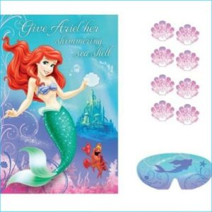 Disney Princess Mermaid Party Game Set 1