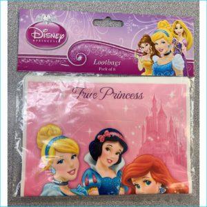Disney Princess Sparkle Lootbags Pk 8