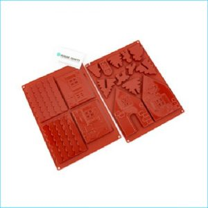 Silicone Mould Gingerbread House Small 2