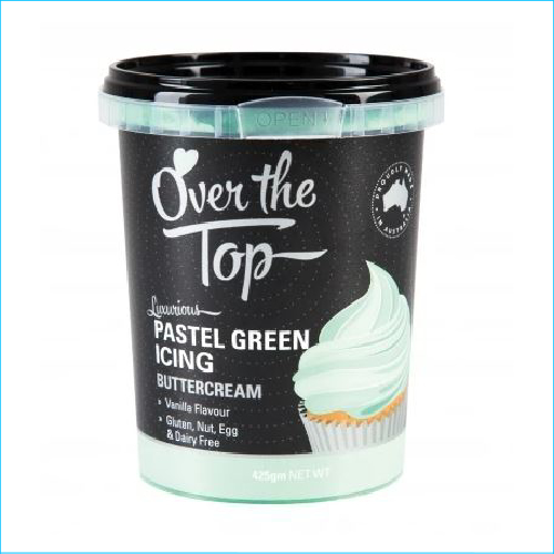 Over the Top Buttercream Pastel Green 42