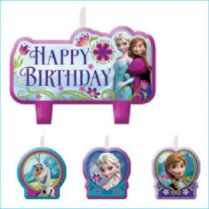Candle Frozen Set of 4