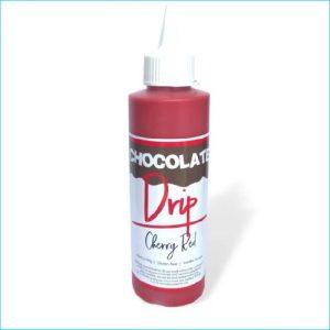 Chocolate Drip Cherry Red 250g