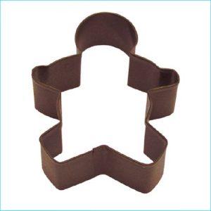 "Cookie Cutter Gingerbread 3.5"" Brown"
