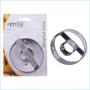"""Cookie Cutter Donut 3"""" Stainless Steel"""