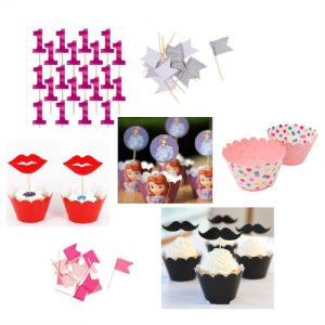 Cupcake Toppers & Cupcake Wraps
