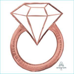 Foil Wedding Engagement Ring 76cm