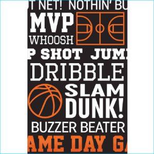Basketball Tablecover 137cm x 259cm