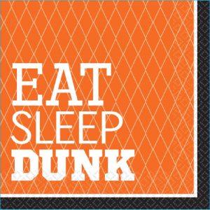 Basketball Lunch Napkins Pk 36