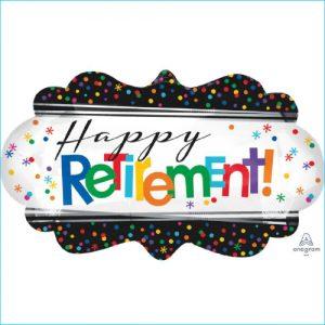 Foil Leaving Happy Retirement 68cm