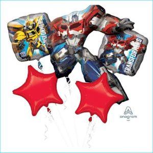 Foil Bouquet Transformers Set 5